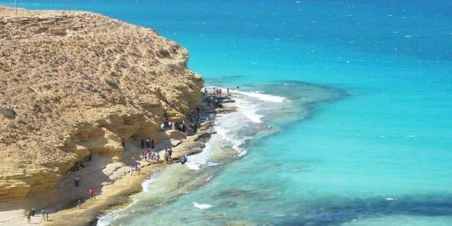 شواطئ مطروح تتأهب لموسم السياحة فى الصيف