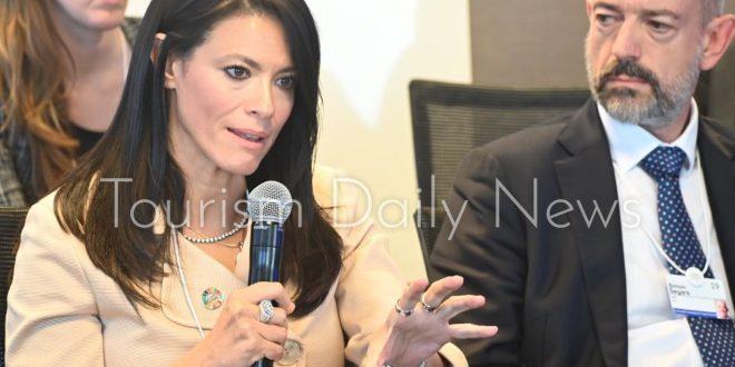 المشاط تستعرض تجربتها كأول وزيرة للسياحة فى مصر بمنتدى المرأة العالمى