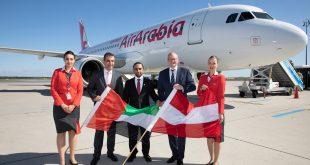 العربية للطيران تسير رحلات مباشرة بين أبوظبي ومدينتي الإسكندرية وسوهاج