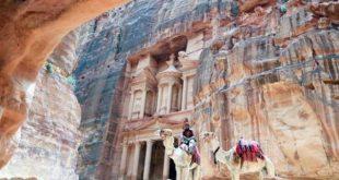 إيرادات السياحة الأردنية تتراجع 63.7% فى 7 أشهر بسبب كورونا
