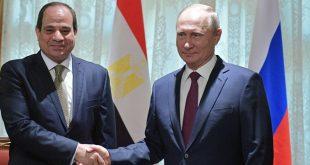 السيسي وبوتين يبحثان عودة رحلات الطيران بين روسيا ومصر بشكل كامل