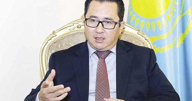 سفير دولة كازاخستان بالقاهرة أرمان إيساجالييف