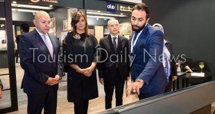 وزيرة الهجرة تفتتح معرض عقارات النيل في دبي تحت شعار مصر بتقربلك