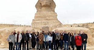 المشاط تصطحب وفد البنك الدولى فى جولة سياحية بالأهرامات والمتحف الكبير