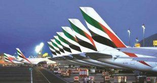 ارتفاع إيرادات شركة دبي لصناعة الطيران في عام 2019