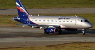 إيروفلوت الروسية تعلق معظم رحلاتها إلي الصين بسبب فيروس كورونا