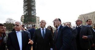 رئيس الوزراء يتابع أعمال تطوير ميدان التحرير .. صور