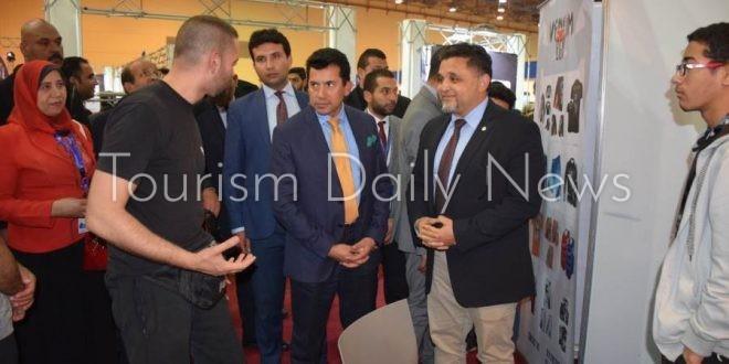 وزير الشباب يفتتح المؤتمر الدولى للاستثمار فى السياحة والأحداث الرياضية