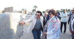 وزيرة الثقافة : سيمبوزبوم أسوان يؤكد ريادة مصر لفن النحت