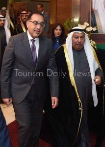 رئيس الوزراء يشارك فى احتفال السفارة الكويتية بعيد التحرير الوطنى
