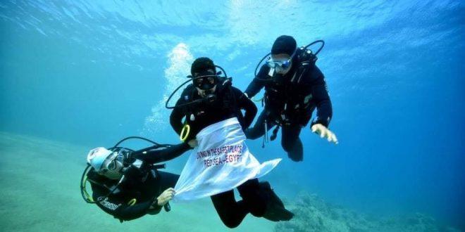 السياحة تسلم 48 مركزا للأنشطة البحرية والغوص والسفاري شهادة السلامة الصحية