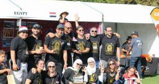 جناح مصر يفوز بالمركز الأول في مهرجان بالمرستون نورث بنيوزيلاندا