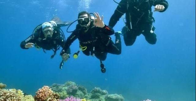 البيئة تعيد استئناف نشاط الغوص باللنشات السياحية فى جنوب سيناء من 1ديسمبر