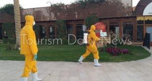 حملة توعوية وتدريبية ضخمة لجميع الفنادق لمواجهة فيروس كورونا.. فيديو