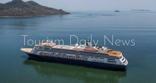 """""""هولاند أمريكا"""" تحذر من ارتفاع ضحايا كورونا علي متن سفينة زاندام السياحية"""