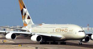 الاتحاد للطيران تنقل 3.5 مليون مسافر وتخسر 758 مليون دولار في النصف الأول