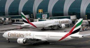 طيران الإمارات يستأنف رحلاته لـ 9 مدن إعتباراً من 21 مايو
