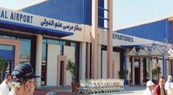 مطار مرسى علم يستقبل 306 مصريين من العالقين فى السعودية