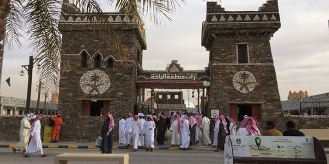 آلاف الزائرين لمنطقة الباحة الأثرية والسياحية بالسعودية