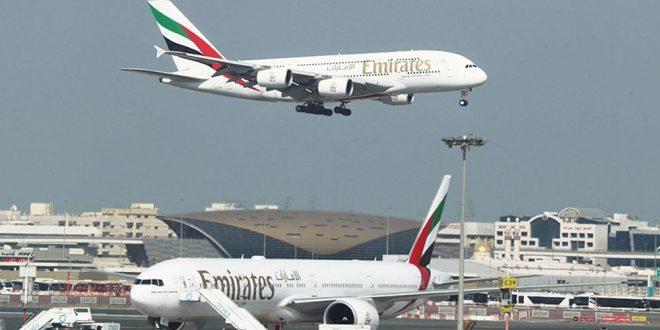 1000 طائرة تحلق في سماء الإمارات يومياً