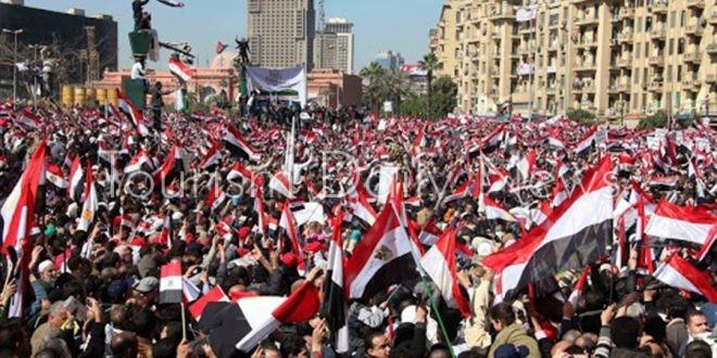 اتحاد المصريين في إسبانيا يحتفل بذكرى ثورة 30 يونيو