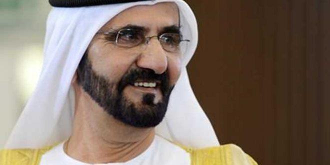 الشيخ محمد بن راشد آل مكتوم نائب رئيس دولة الإمارات و رئيس مجلس الوزراء حاكم دبي