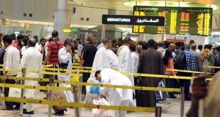 مطار الكويت يستقبل 332 ألف مسافر فى 80 يوماً