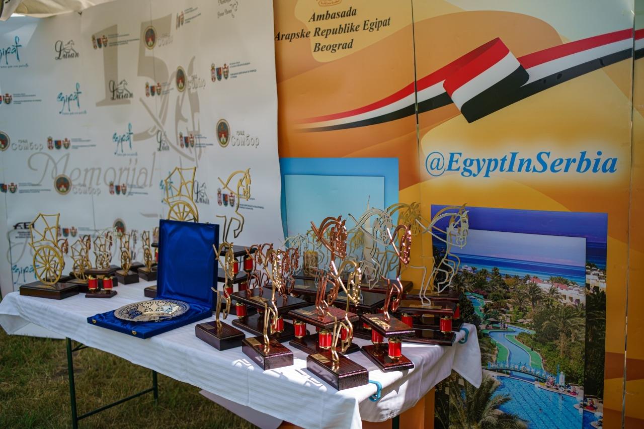 سفارة مصر في بلجراد ترعى مسابقة فروسية في صربيا تبرز سلالة الحصان العربي