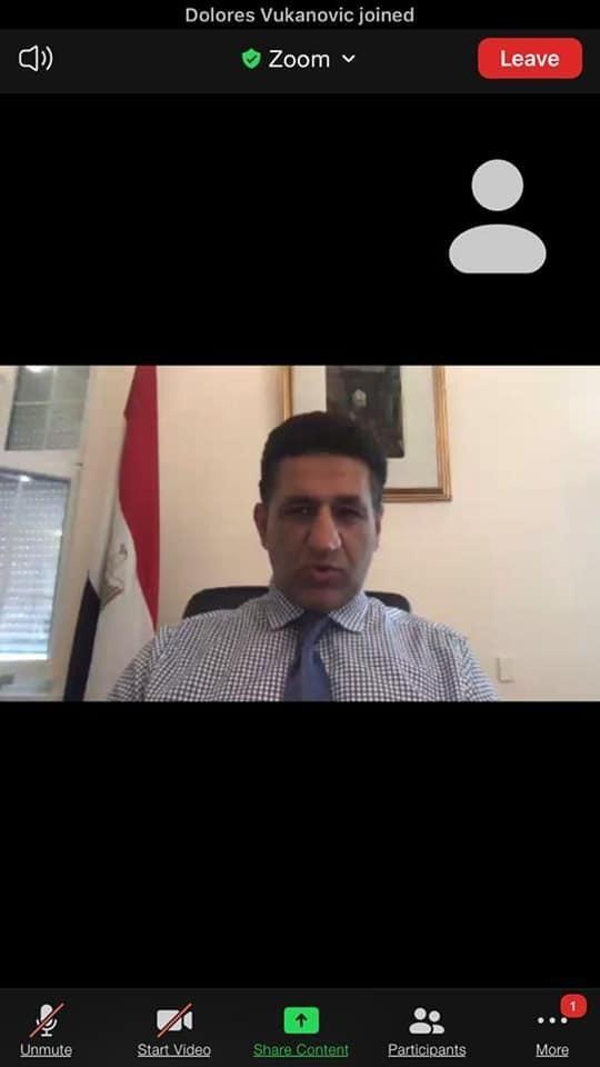 سفير مصر في بلجراد يعلن الفائز بجائزة أفضل مقال سفر عن مصر