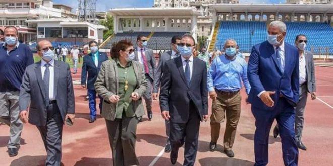 عودة النشاط الرياضي باستاد الإسكندرية بعد توقف 4 شهور