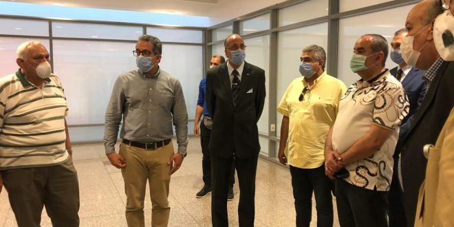 وزيرا السياحة والآثار والطيران المدني يتفقدان متحف مطار القاهرة الدولي