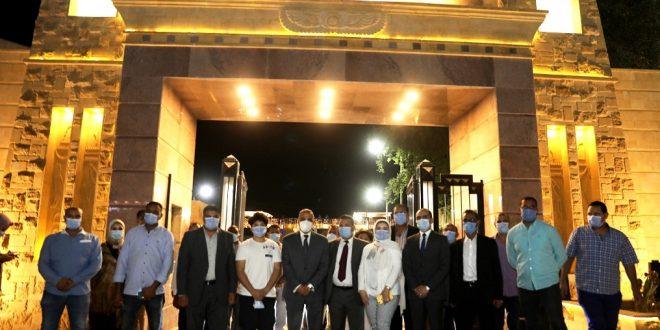 محافظ سوهاج يفتتح المرحلة الأولى من تأهيل مرسى ناصر السياحي