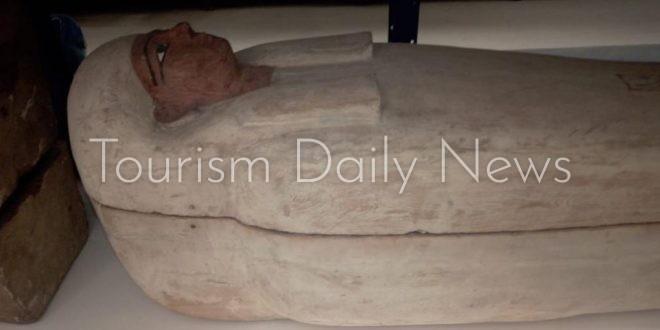 المتحف القومي للحضارة يستقبل 17 تابوتاً ملكياً لترميمها وتجهيزها للعرض
