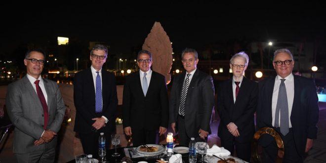 41 سفيراً بالقاهرة يزورون قصر البارون امبان ويحضرون حفل عشاء بالحديقة