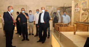 أحمد غنيم رئيساً تنفيذيا لهيئة المتحف القومي للحضارة المصرية بالفسطاط