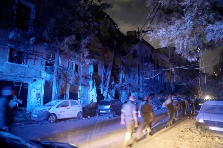 ارتفاع أعداد قتلى ومصابي انفجار مرفأ بيروت وأضرار كبيرة بمستودعات الأدوية