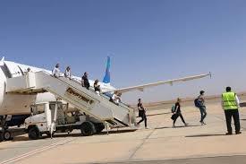 استئناف الرحلات السياحية إلى مطار طابا وأول رحلة من بولندا تصل اليوم