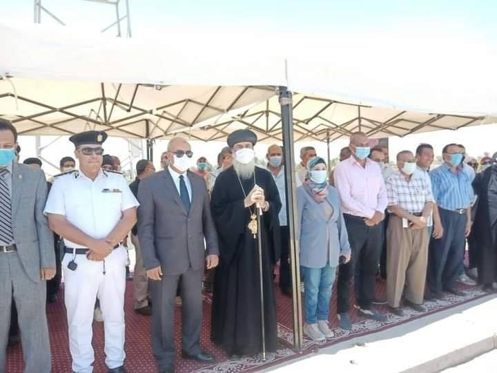 افتتاح 3 أديرة في مدينة نقادة بمحافظة قنا بعد الانتهاء من أعمال ترميمها