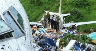 الطيران المدني بالهند يعثر على صندوقين أسودين في موقع تحطم طائرة الركاب