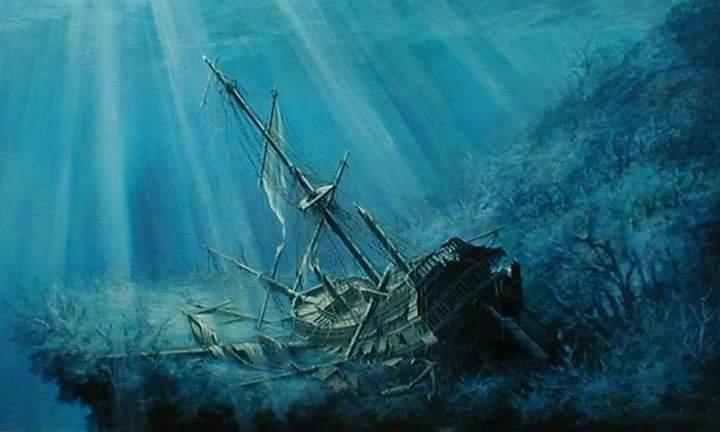 العثور على مرساة السفينة Merchant Royal غرقت وعلى متنها 1.43 مليار دولار