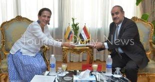 مصر وكولومبيا تبحثان تسيير خط طيران مباشر بين البلدين