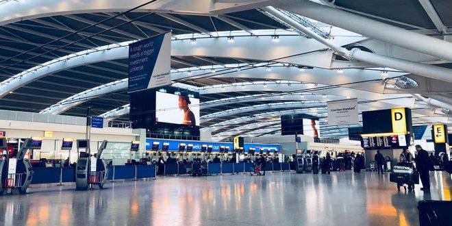 تراجع أعداد المسافرين عبر مطار هيثرو 89% فى يوليو على أساس سنوى