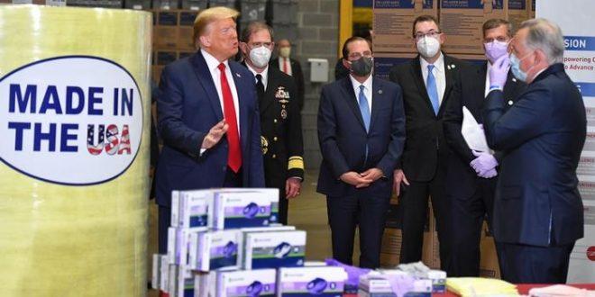 ترامب يتهم الدولة العميقة بعرقلة تصنيع دواء كورونا وتأخيره لبعد الانتخابات