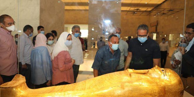 قمة الأهلى والزمالك تؤجل موكب نقل المومياوات الملكية لمتحف الحضارة