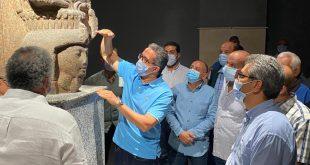 متحف شرم الشيخ يستقبل 5800 قطعة أثرية .. والعناني يتابع أعماله قبل افتتاحه