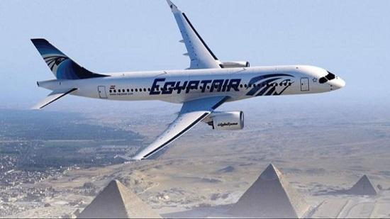 غداً .. مصر للطيران تسير 58 رحلة جوية لنقل 6600 راكب