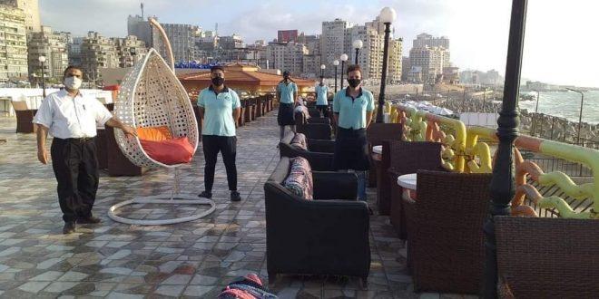 نقابة التطبيقيين بالإسكندرية توافق على دخول السياحيين النادي الاجتماعي