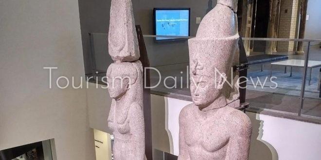 مصر تعيد تمثالين ملكيين من الولايات المتحدة لعرضهما بالمتحف المصري الكبير