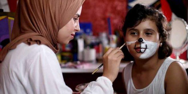الرسم يحفز أطفال فلسطين 6