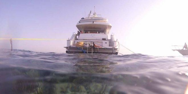 البيئة تتخذ اجراءات قانونية فى جنوح المركب السياحى بالبحر الاحمر